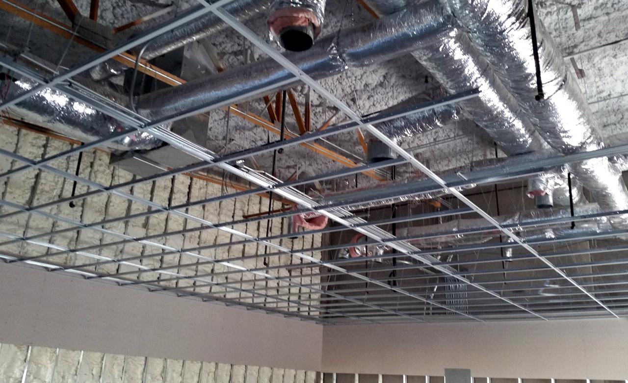 Dropped-Ceiling-Grid